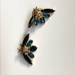 Henri Bendel Bug Earrings gold